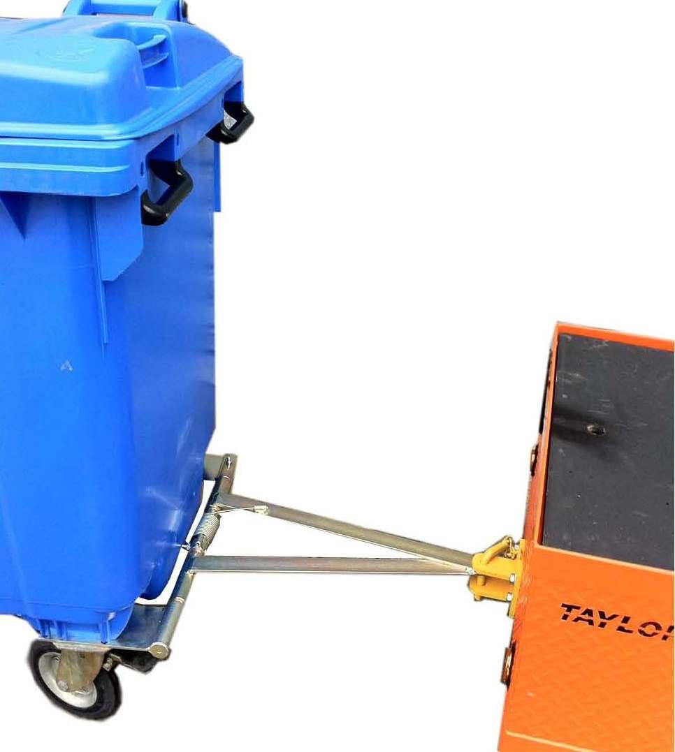 Universal Towing Device For 660l Amp 1100l Wheelie Bin