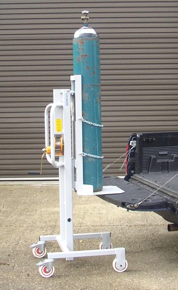 Bottle Gas Lift : Gas bottle trolley mmh wheels