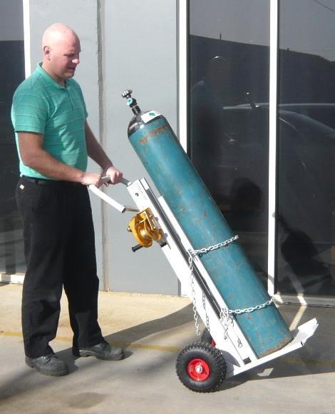 Bottle Gas Lift : Gas bottle trolley mmh lift